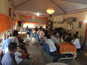 Suasana FGD yang dilaksanakan Panwas Bolmong