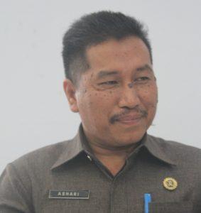 Sekertaris Daerah Drs Ashari Sugeha