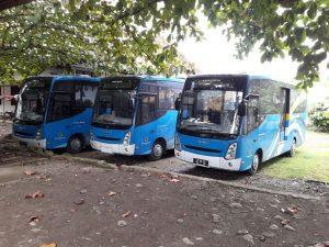 Bus angkutan umum Kotamobagu