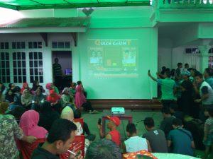 Lantunan Sholawat Iringi Penghitungan Cepat di Kediaman YSM Berita Bolmong Berita Daerah