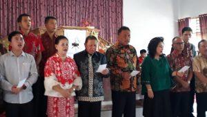 Gubernur Olly Ibadah Bersama Jemaat GMIBM Berita Bolmong Berita Daerah