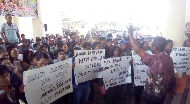 LSM LP3T Ajak Semua Pihak Jaga Situasi Aman dan Kondusif di Desa Tiberias Poigar Berita Bolmong Berita Daerah