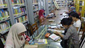 Ilustrasi Perpustakaan