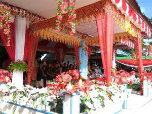 Walikota Tatong Bara menjadi irup peringatan HUT Kotamobagu ke-10
