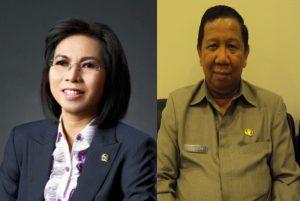 Yasti Supredjo Mokoagow dan Adrianus Nixon Watung