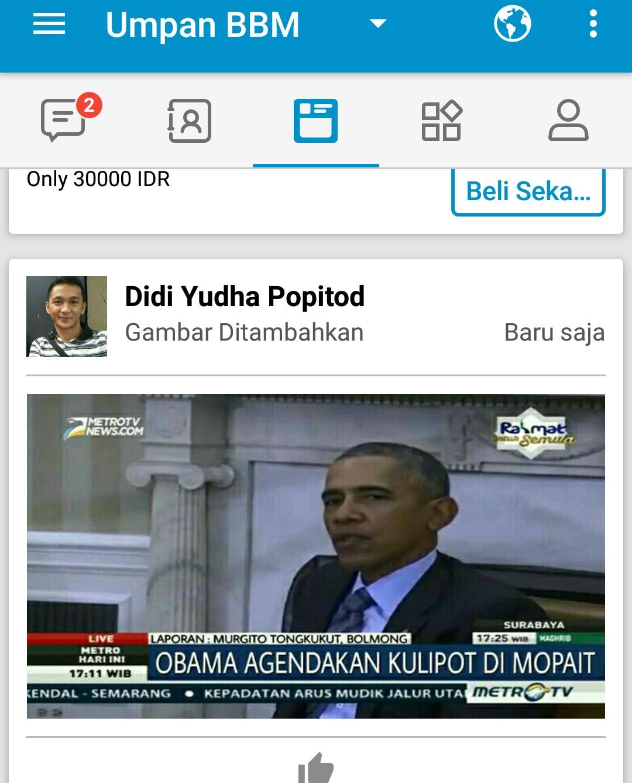 Netizen Bikin Meme Obama ke Mopait Berita Hiburan