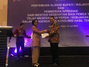 Yasti Terima Penghargaan Paramesti dari Kemenkes Berita Bolmong Berita Daerah