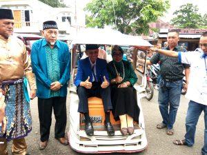 Naik Bentor, Jainuddin Resmi Mendaftar di PAN Berita Politik