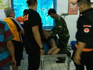 Tim SAR, Yon Armed Bogani dan TRC PB BPBD Selamatkan Anak Tenggelam Berita Bolmong Berita Daerah
