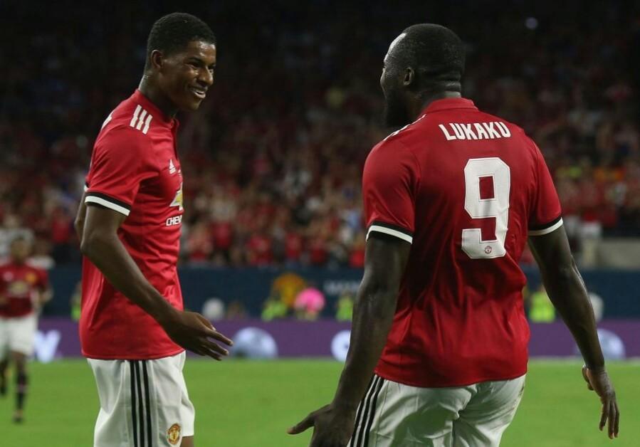 Duet Lukaku & Rashford Melukai Manchester City di Amerika Berita Olahraga