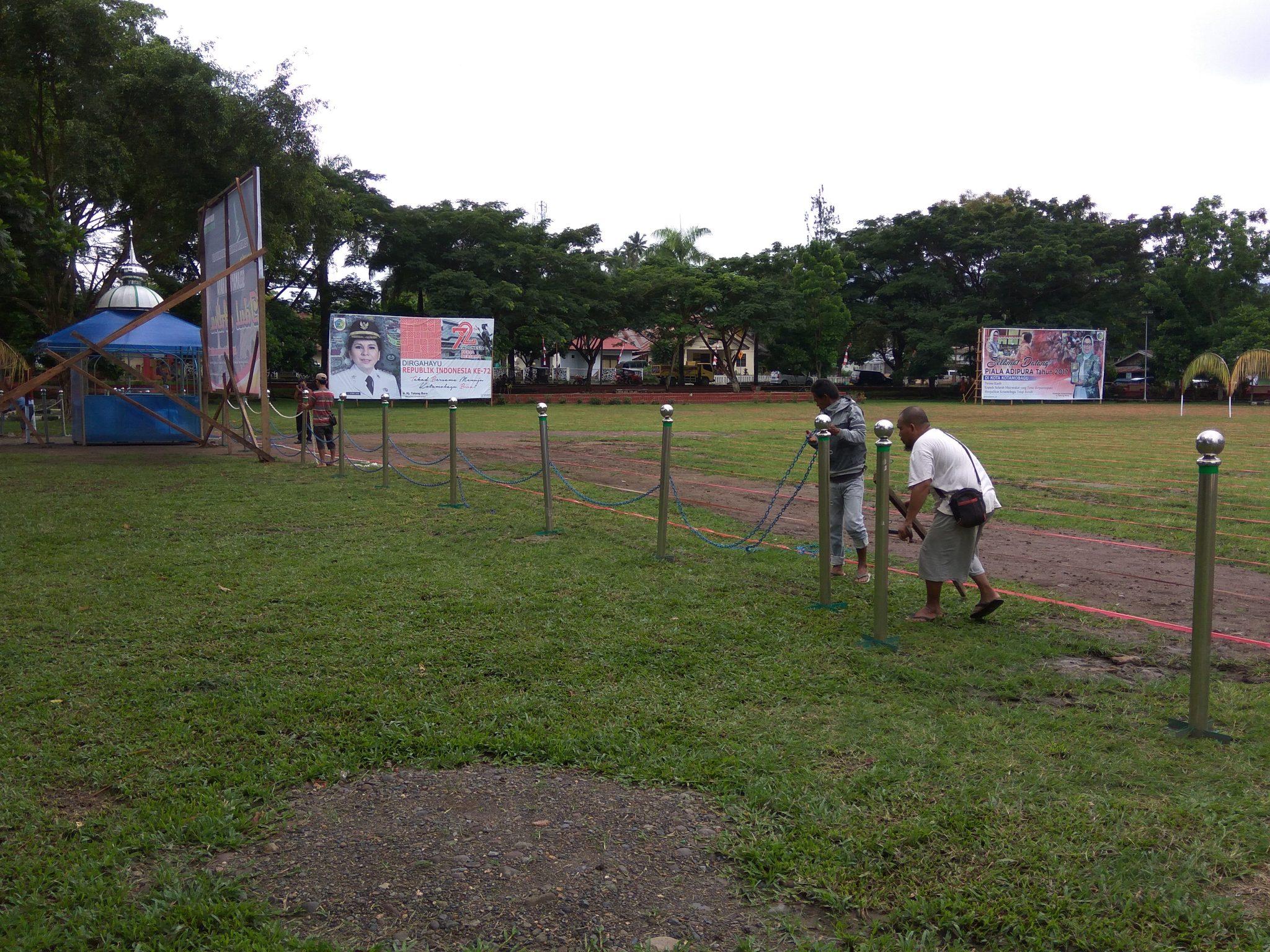 PUPR Akan Jadikan Lapangan Kotamobagu RTH Berita Kotamobagu