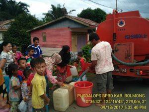 Korban Banjir Terima Bantuan Air Bersih Berita Daerah Berita Kotamobagu