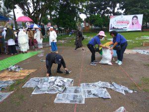Ormas Wanita Katolik Kotamobagu Bersihkan Sampah di Lokasi Salat Berita Daerah Berita Kotamobagu