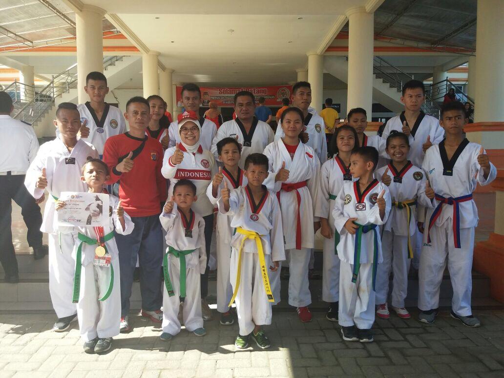 Taekwondo Bolmong Target Juara di Poprov Sulut Berita Bolmong Berita Daerah
