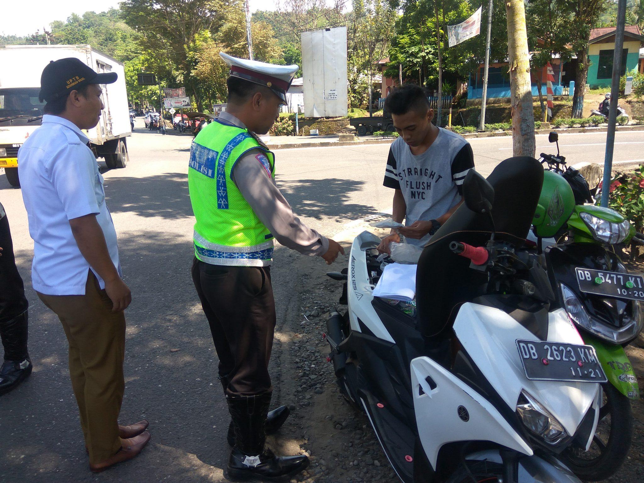 Banyak Pelanggar di Kotamobagu Coba Sogok Polisi Berita Hukum