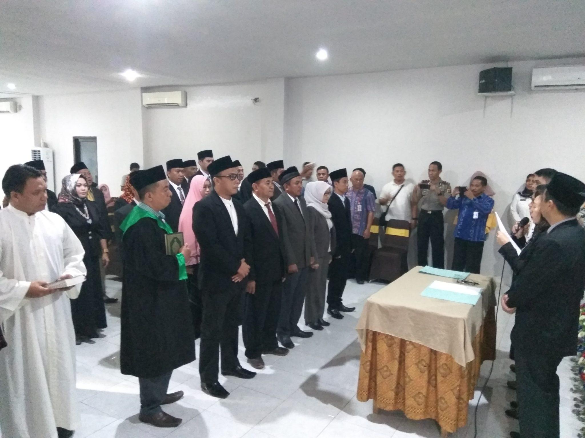 KPU Kotamobagu Lantik 20 Anggota PPK Berita Politik