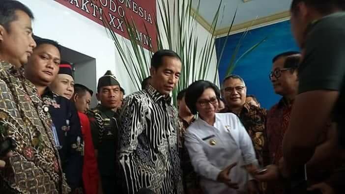 Pembukaan Kongres GMNI, Yasti Tampak Akrab dengan Jokowi Berita Bolmong Berita Daerah