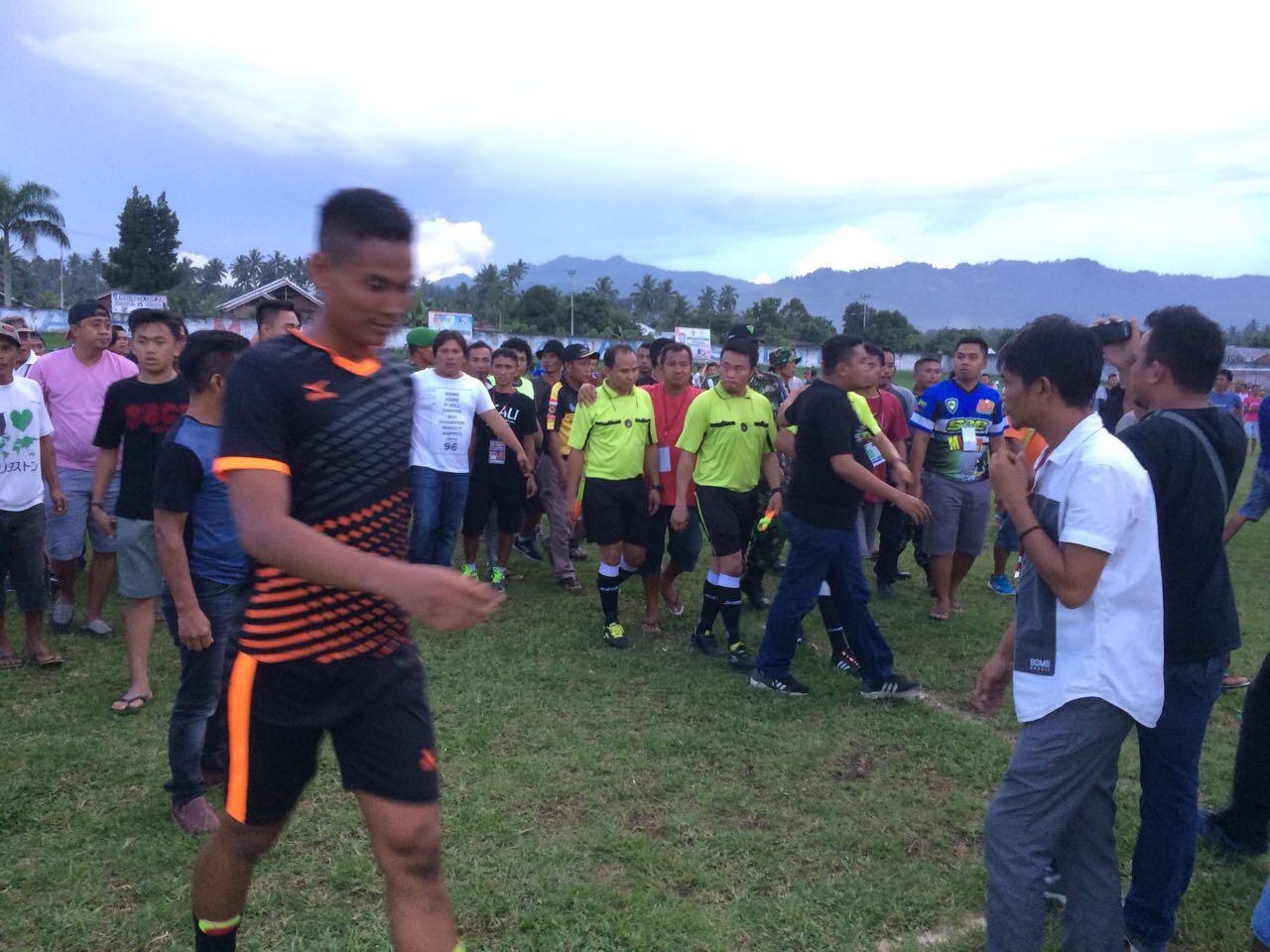 Olahraga  Walikota CUP Sepakbola Ricuh Matali