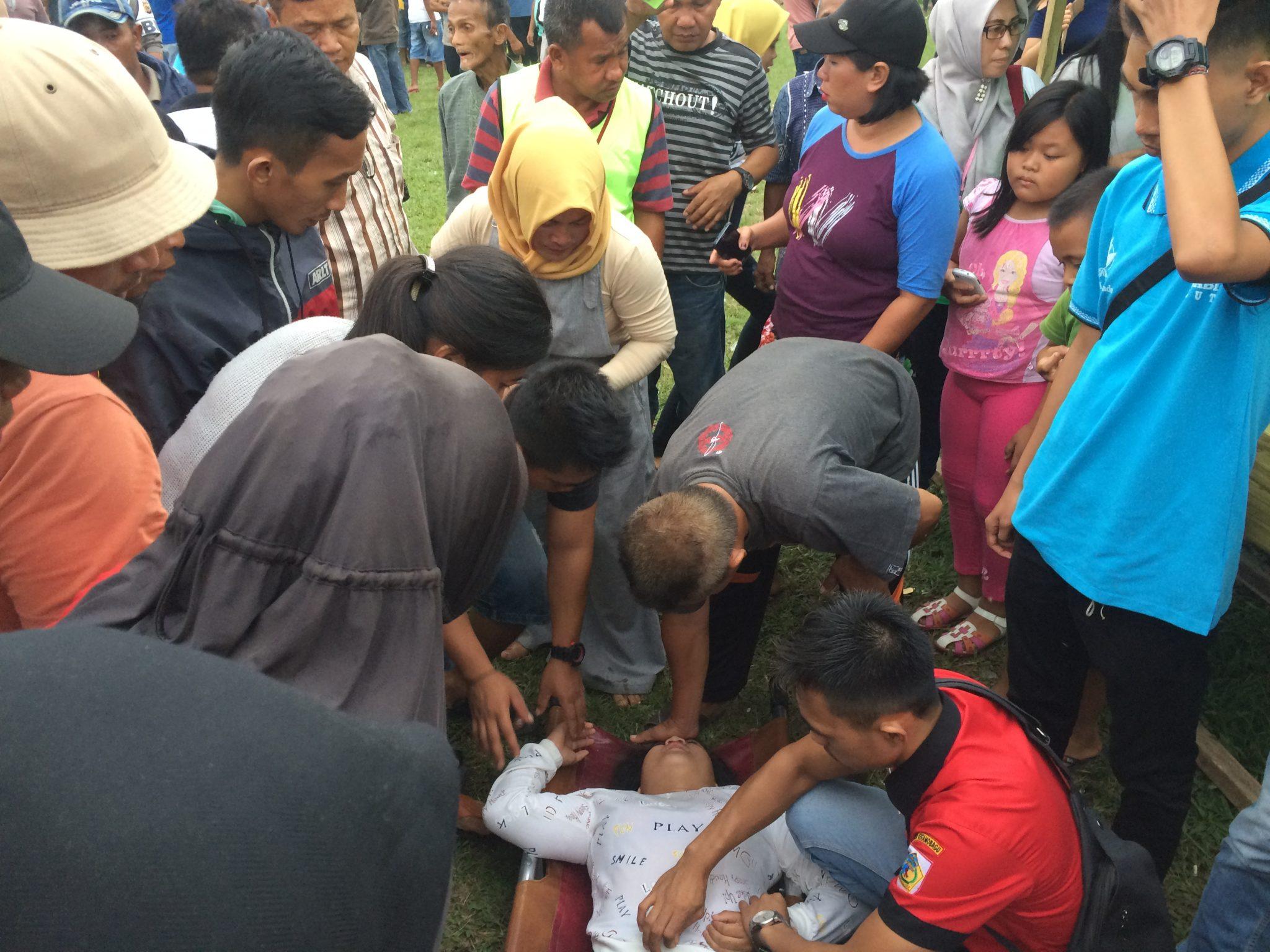 Daerah Kotamobagu Olahraga  Walikota CUP Sepakbola Putra Jaton Ikhwan Lukas Mandowen Kericuhan