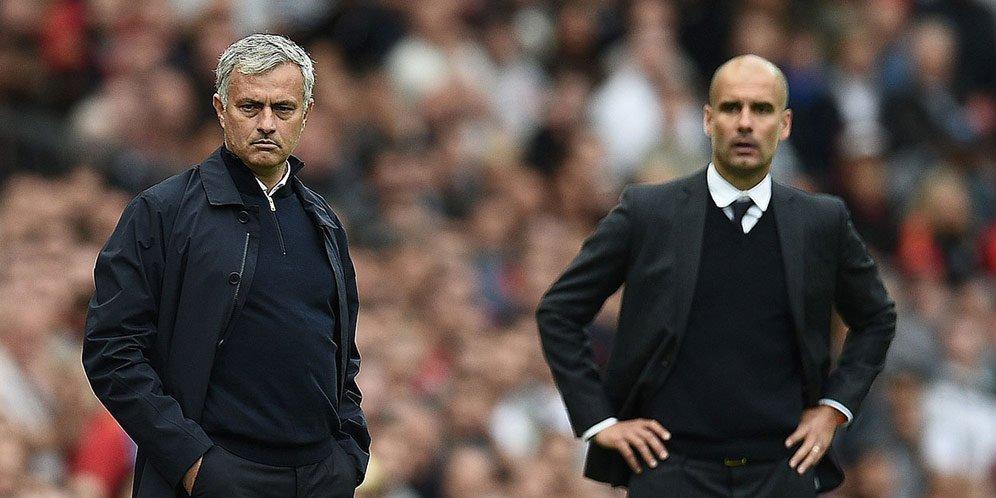 Olahraga  Tech reviews olf trafford Mourinho Liga Inggris guardiola