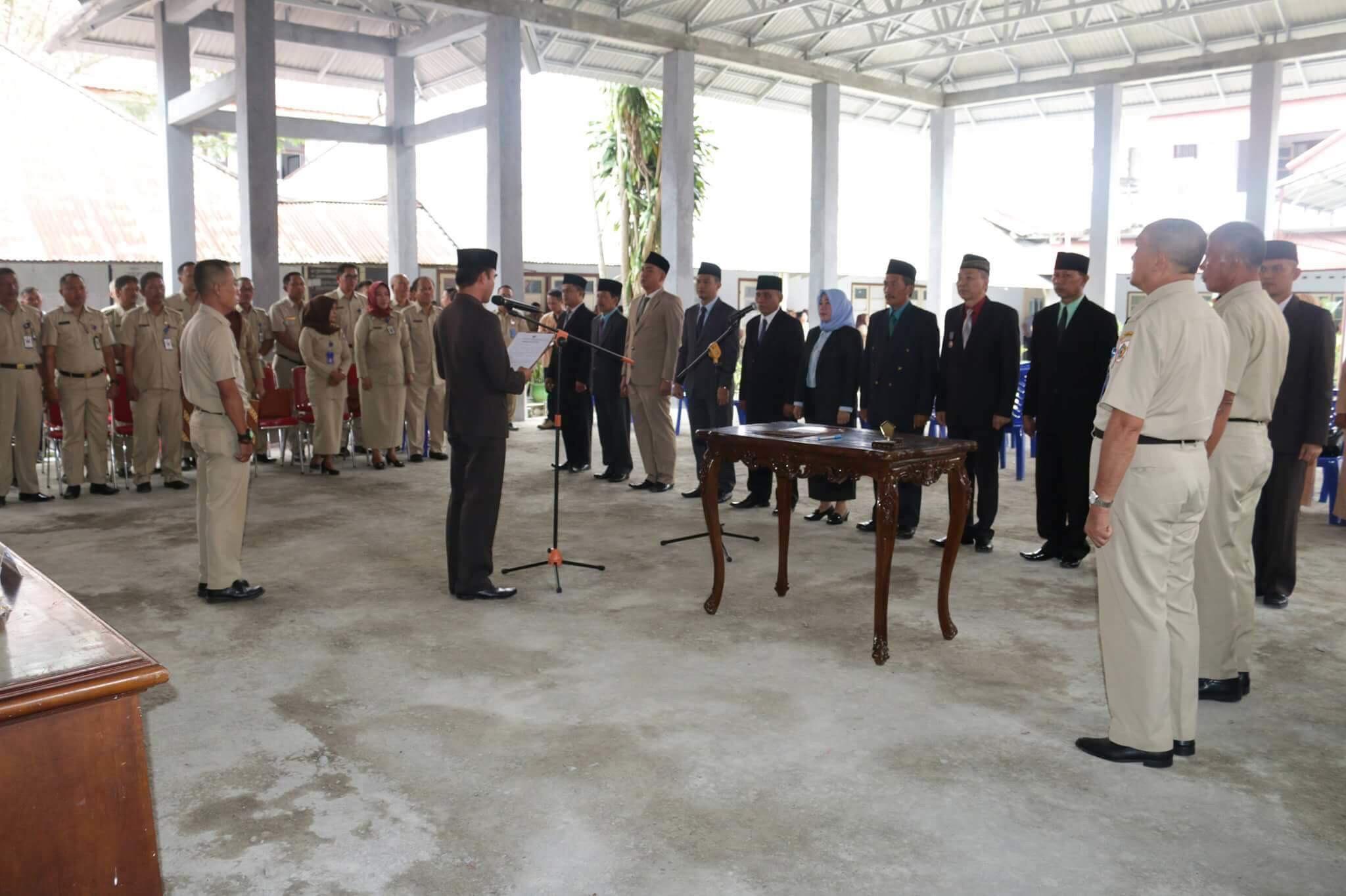 11 Pejabat Pemkot Kotamobagu Dilantik Berita Daerah Berita Kotamobagu