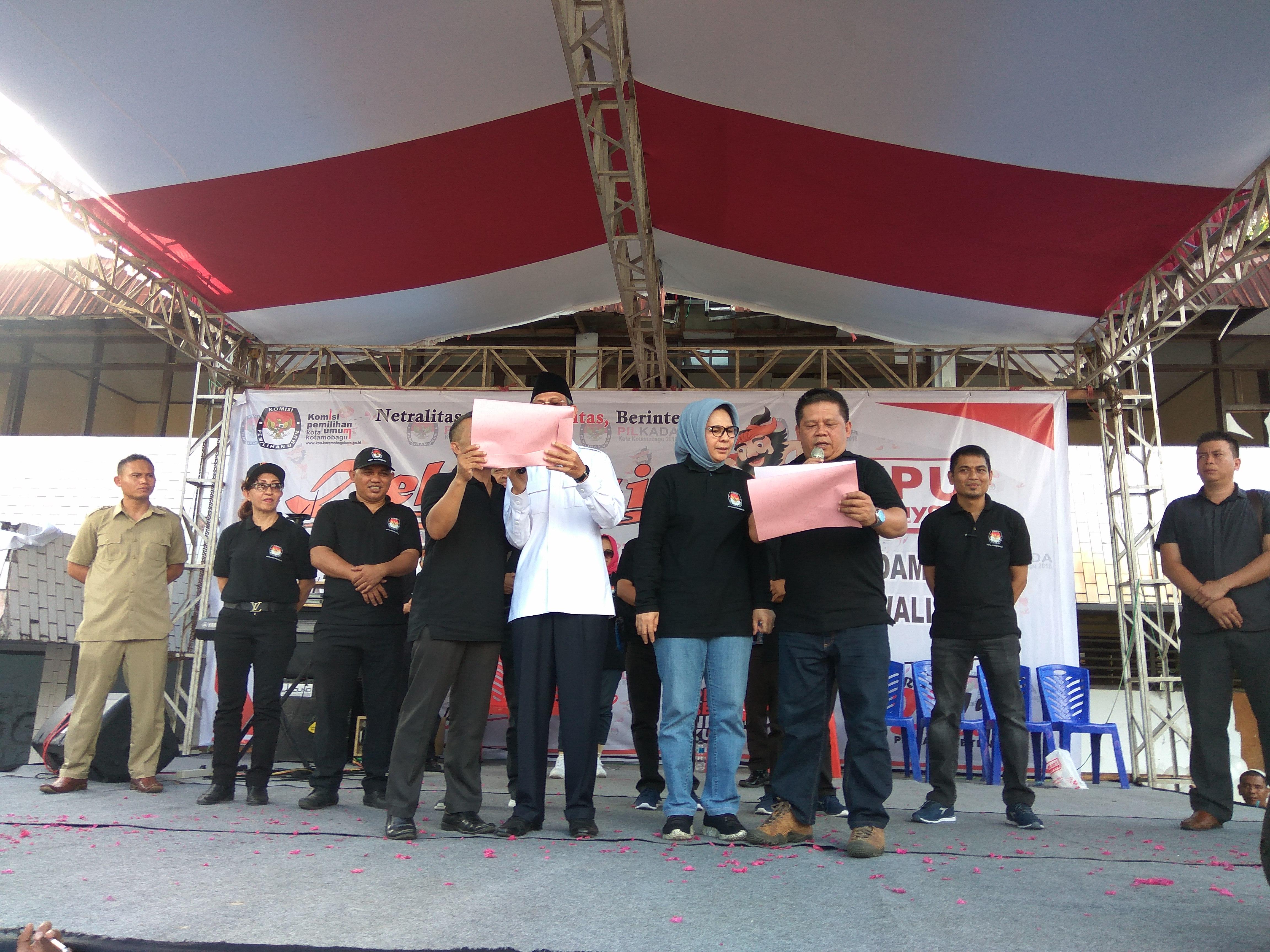 Tatong- Nayodo Tampil Serasi di Deklarasi Pilkada Damai Berita Politik