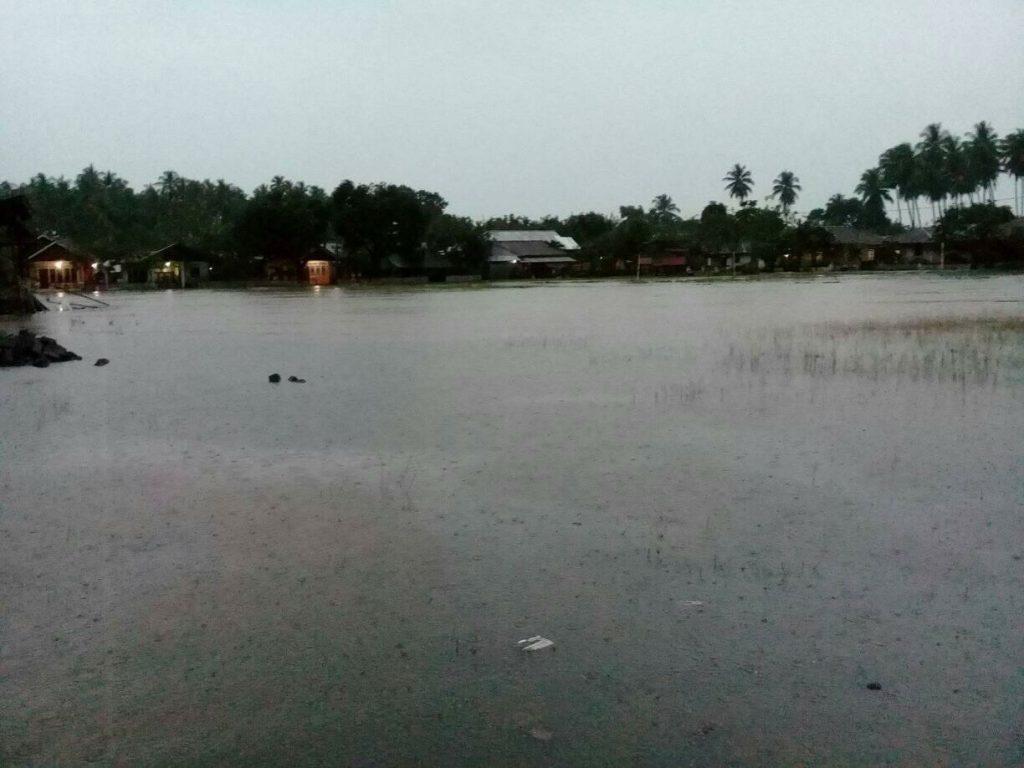 Hujan Seharian,Desa Nonapan Banjir Berita Bolmong Berita Daerah