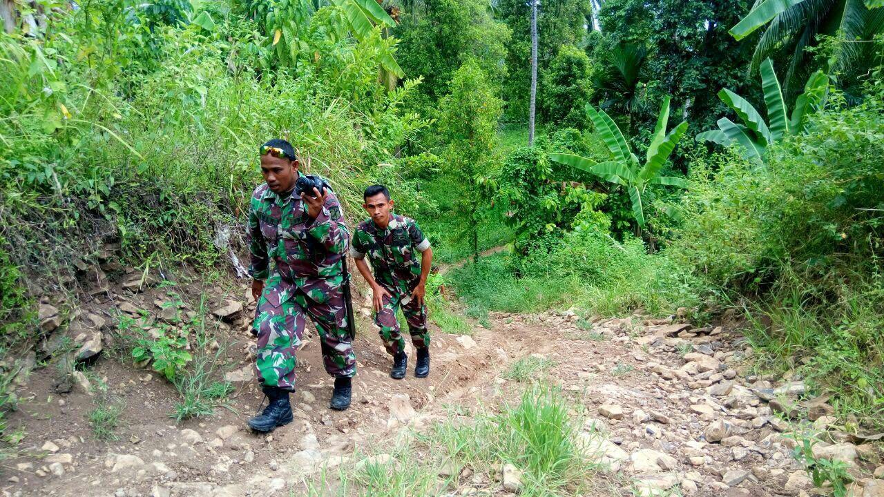 Bolsel Daerah  TMMD Kodim 1303 Bolmong Kecamatan Tomini