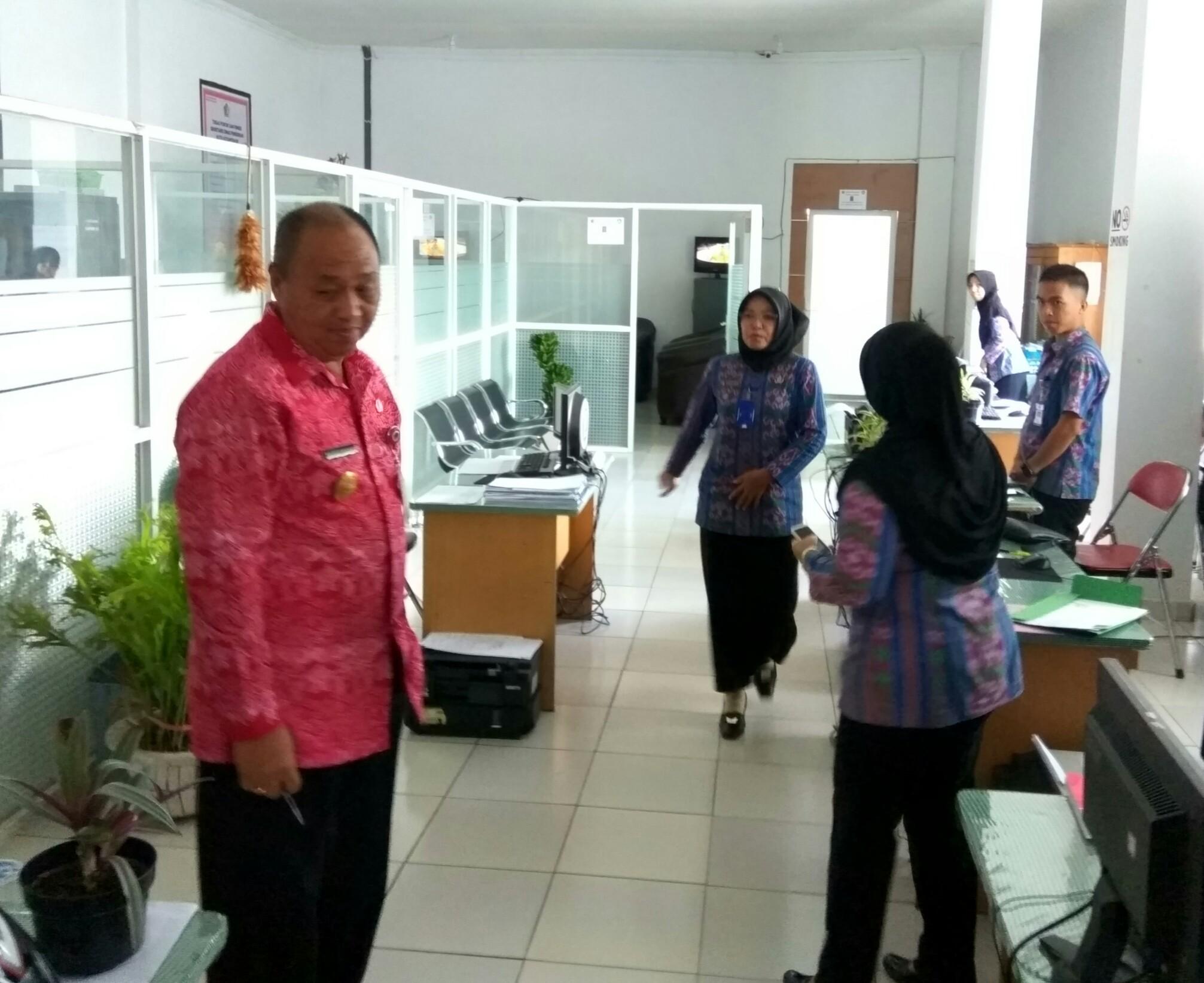 Kantor Bersih, Pjs Walikota Puji Kadis Pendidikan Berita Daerah Berita Kotamobagu