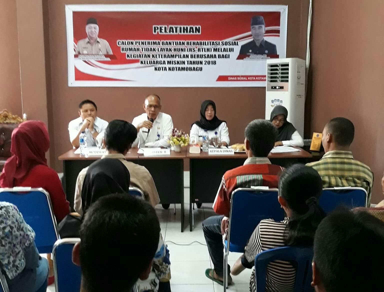14 Kepala Keluarga di Kotamobagu Dapat Bantuan RTLH Berita Daerah Berita Kotamobagu