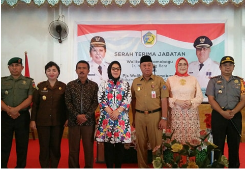 Ketua DPRD Kotamobagu Hadiri Serah Terima Jabatan Pjs Walikota Advertorial