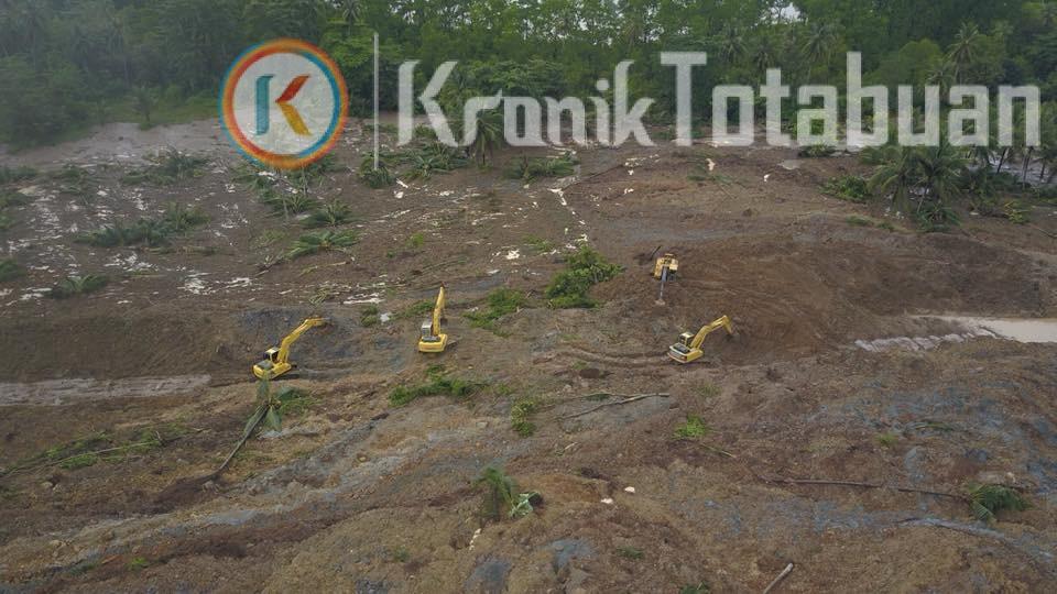 Material Longsor di Jalan Trans Sulawesi Mulai Dibersihkan, Pengendara dari Kotamobagu Pilih Jalur Modoinding Sulut
