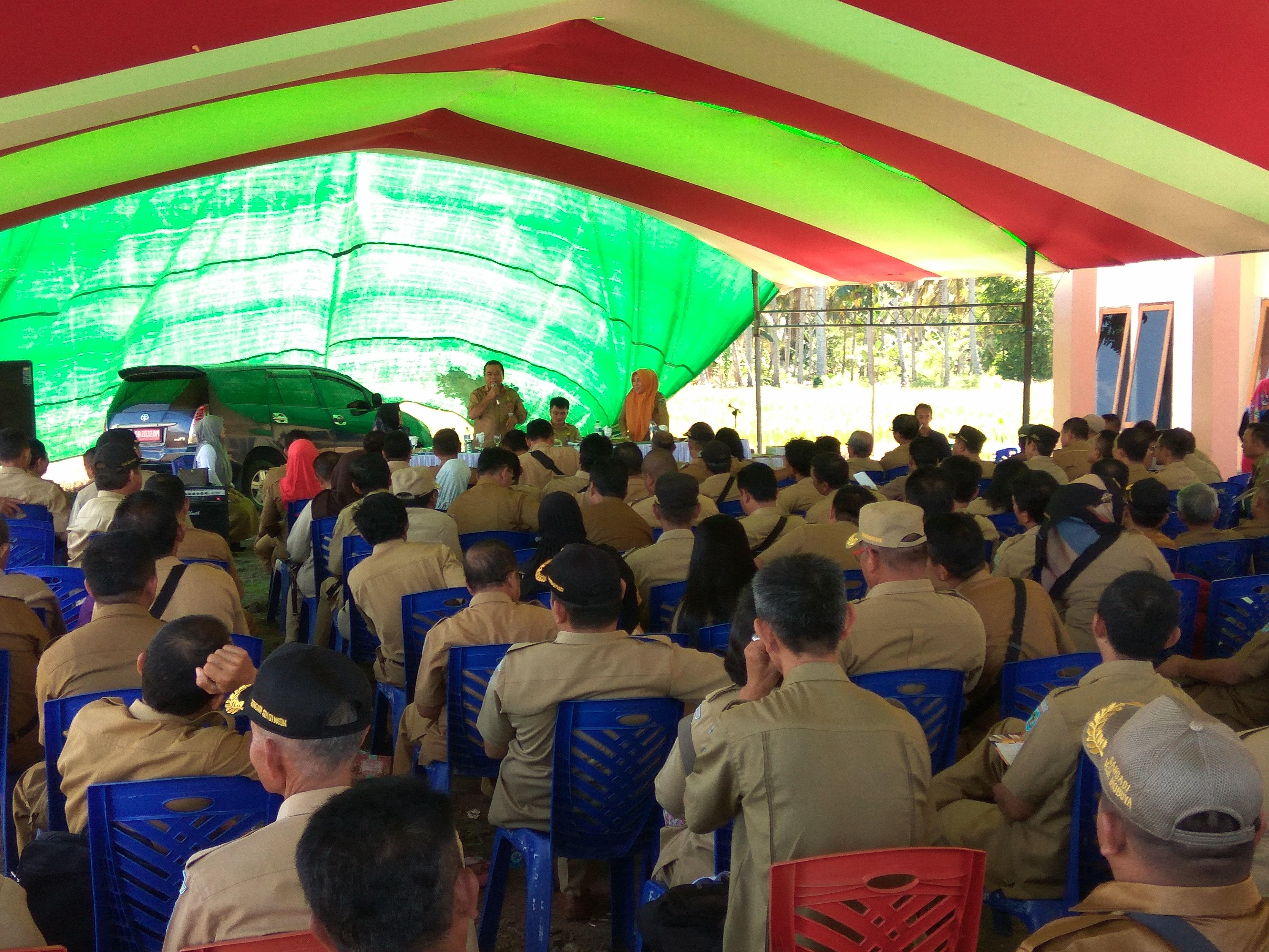 Pemkab Kumpul 200 Sangadi di Lolak, Ada Apa? Berita Bolmong Berita Daerah