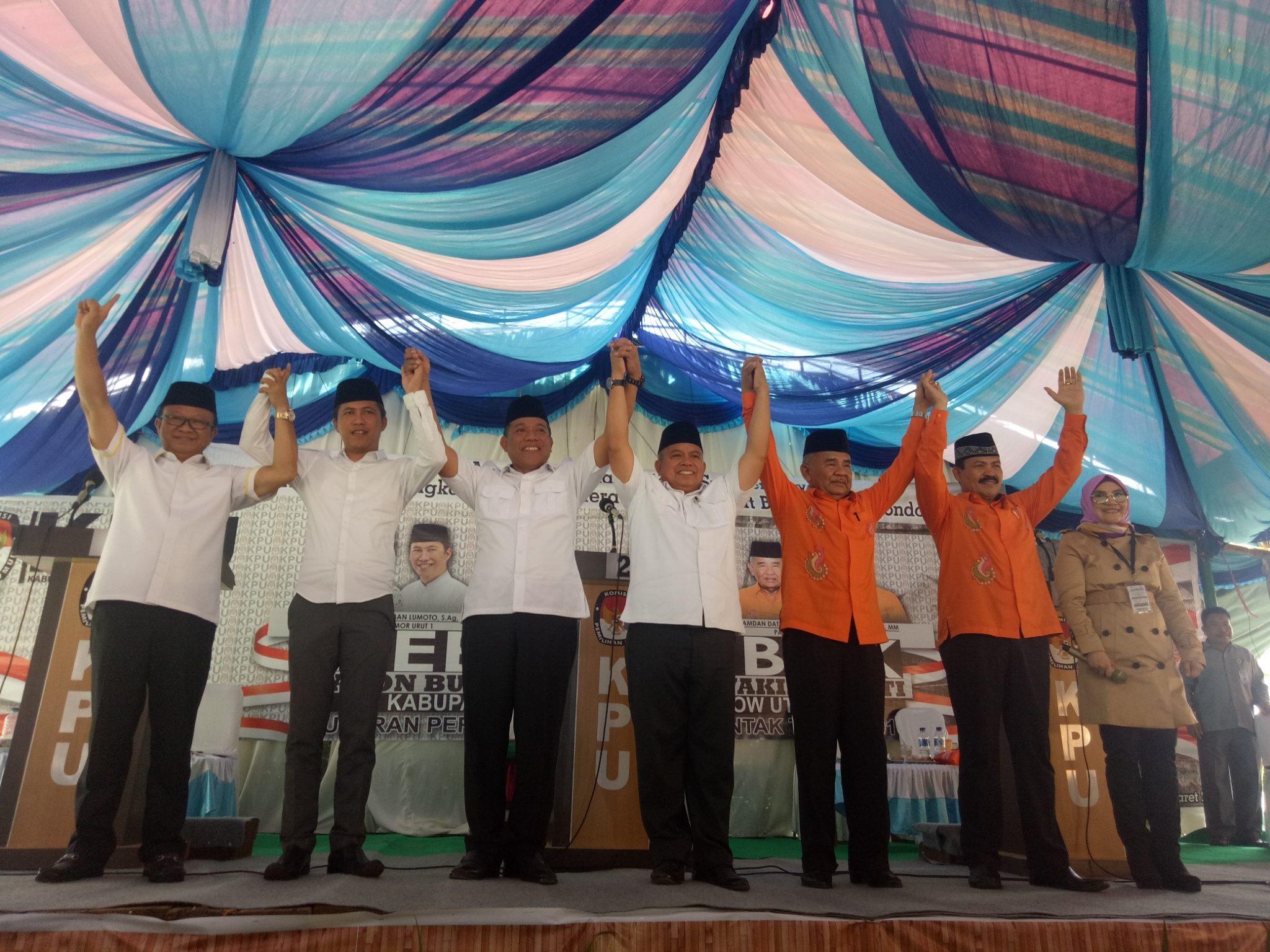 Bolmut Daerah  KPU Karel Bangko hamdan datunsolang