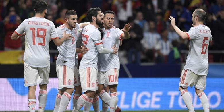 Olahraga  Spanyol Piala Dunia