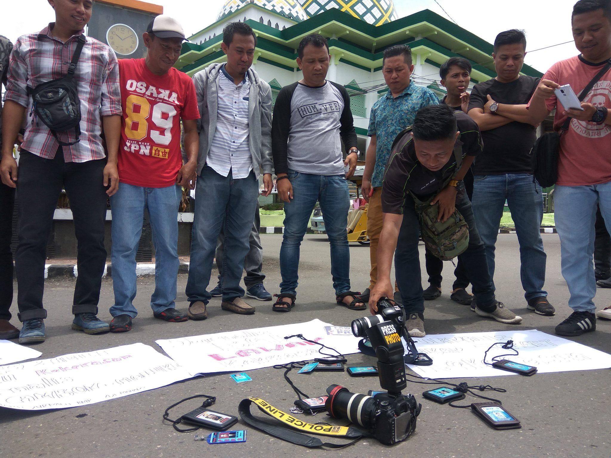 Nasional  Kota Ambon Kekerasan terhadap Jurnalis