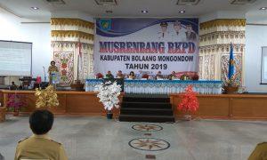 Bolmong Daerah  Yasti Soepredjo Mokoagow Musrenbang RKPD 2019 Kabupaten Bolmong