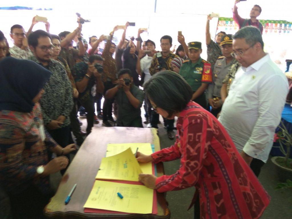 Kunjungi Bolmong, Mendes PDTT: Bupati Yasti Luar Biasa Advertorial