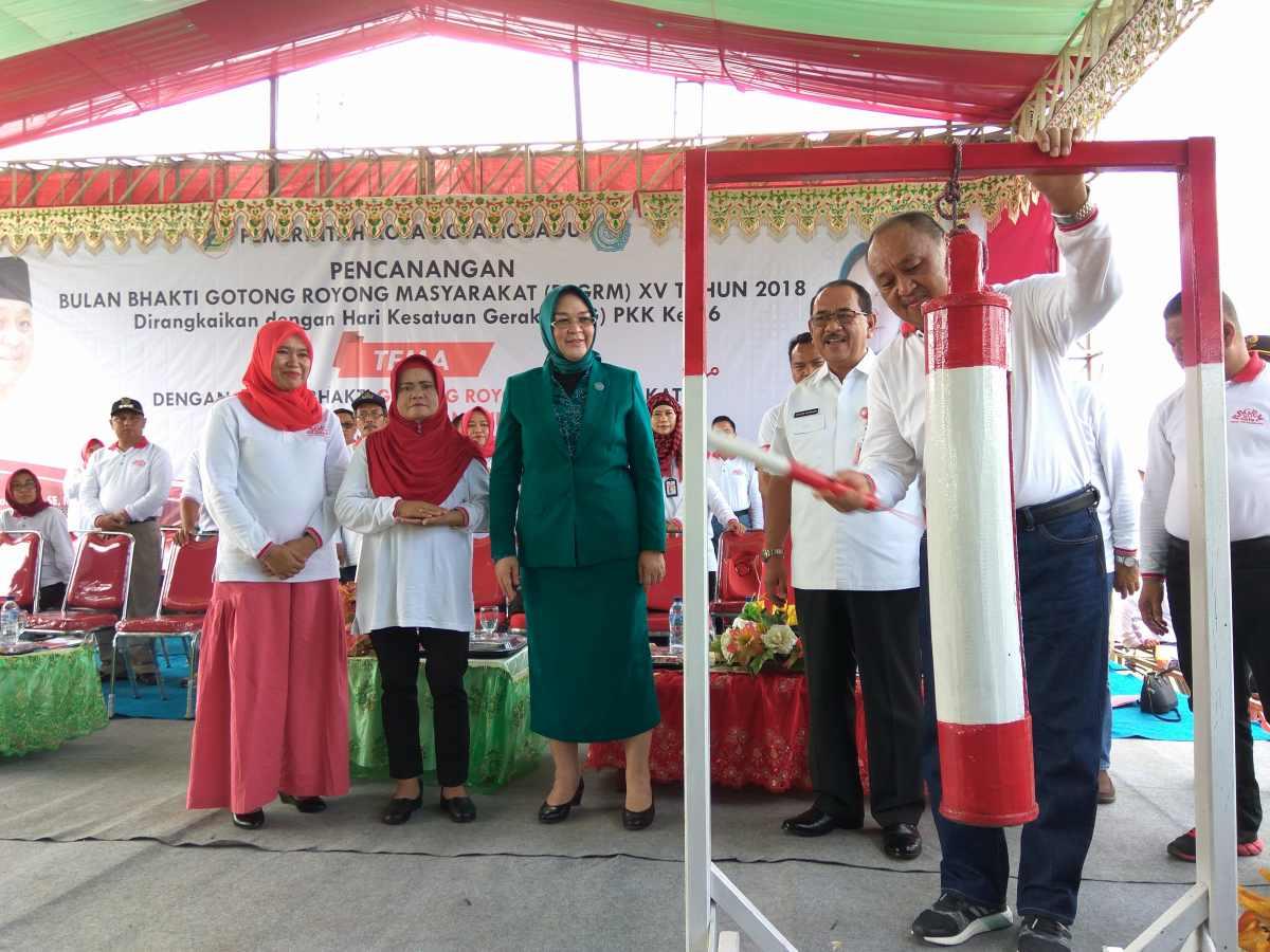 Pjs Walikota Resmikan BBGRM ke-15 di Kotamobagu Berita Daerah Berita Kotamobagu