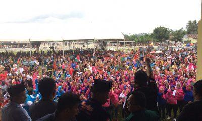 Politik  TBNK Poyowa Besar I PDI Perjuangan Kotamobagu Meiddy Makalalag Kampanye Dialogis