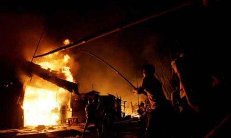 Gubuk Terbakar, Warga Sia' Tewas Terpanggang