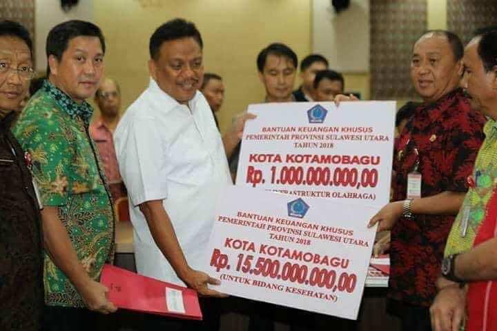 Kotamobagu Terima Rp16,5 Miliar Bantuan Pemprov Sulut Berita Daerah Berita Kotamobagu