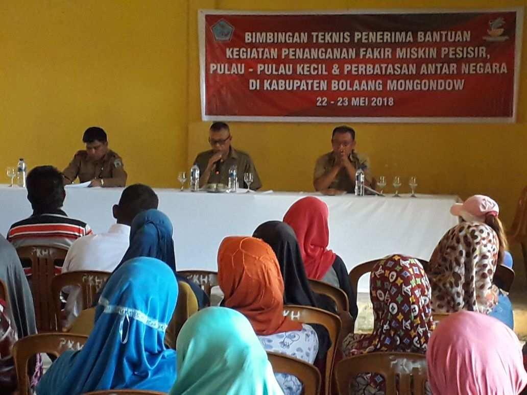 20 Kelompok Keluarga di Bolmong Dapat Bantuan Usaha Ekonomi Produktif Berita Bolmong Berita Daerah