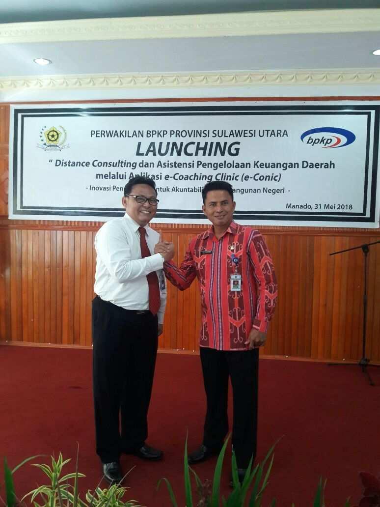 Pemkab Dorong Pelayanan Berbasis Teknologi Lewat e-Conic Berita Bolmong Berita Daerah