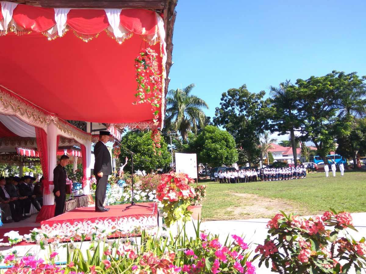 Pjs Walikota Kotamobagu Beri Pesan Khusus kepada Siswa di Peringatan Hardiknas Berita Daerah Berita Kotamobagu