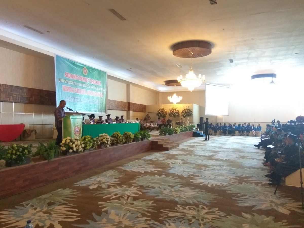 Alumni UDK Harus Jadi Contoh Baik di Tengah Masyarakat Berita Daerah Berita Kotamobagu