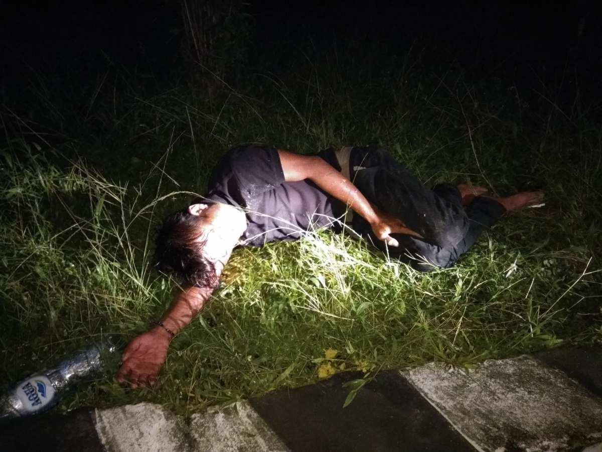 Gara-gara Mabuk, Pria Ini Terbaring di Semak Hingga Jadi Tontonan Warga Berita Hukum