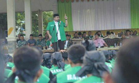Semangati Peserta DTD di Lolak, Yaqut: GP Ansor Penjaga NKRI Berita Bolmong Berita Daerah