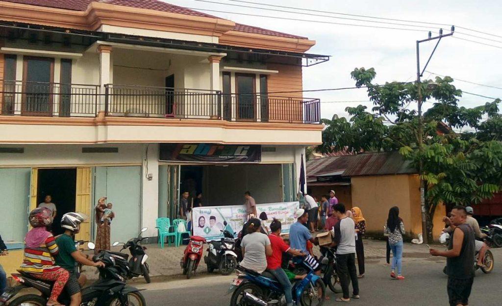 Berbagi Berkah, TABRAC Pobundayan Bagi-bagi Takjil Berita Daerah Berita Kotamobagu