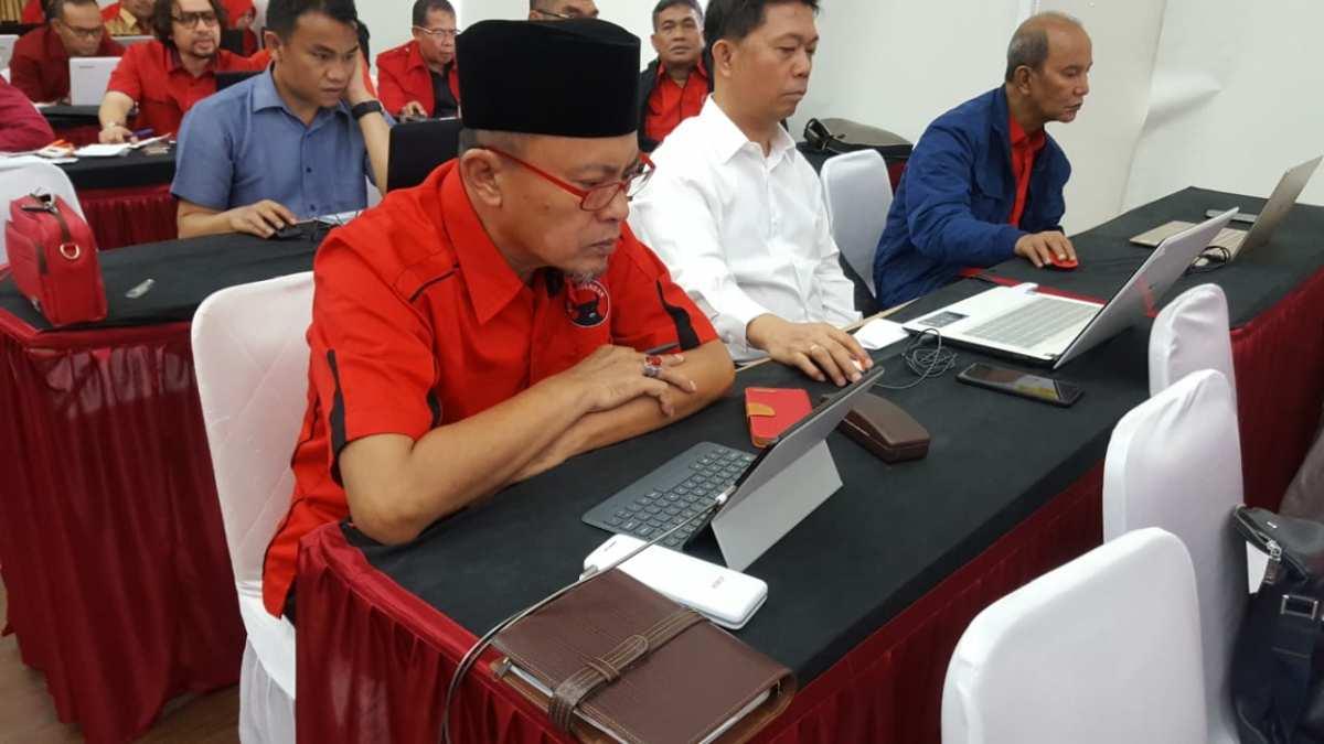 H2M Ikut Tes Tertulis dan Psikotest Online di DPP PDI Perjuangan Berita Bolsel Berita Daerah